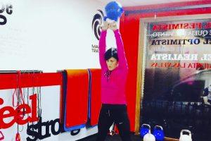 Entrenamientos Marta Gonzalez 1 Feel Strong Sienttfuerte Sala de entrenamiento en Navalcarnero Madrid